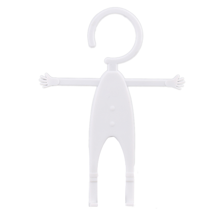 Flexible Human Shape Silicon Grip Car Stand Holder for iPhone Galaxy Mobile (White) (Intl)