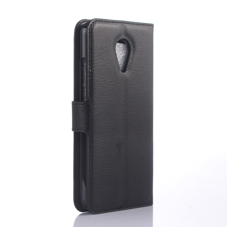 Flip Leather Cover for Meizu MX5 (Black) (Intl)
