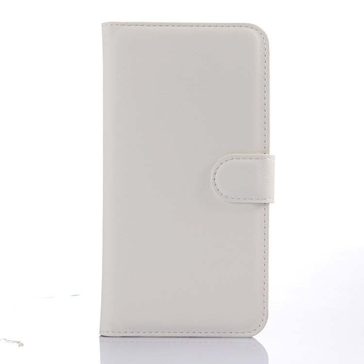 Flip Leather Cover for Meizu MX5 (White) (Intl)