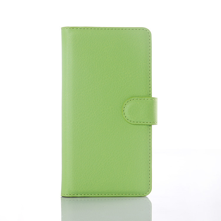 Flip Leather Cover for Wiko Rainbow UP (Green) (Intl)