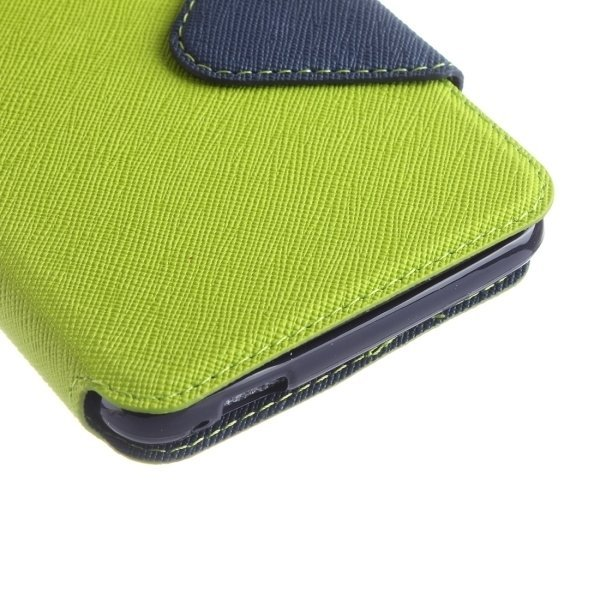 Flip Leather Cover with Call Display ID and Holder and Card Slots for Xiaomi Redmi Note 3(Green) (Intl)