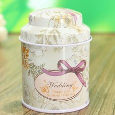 Flower Metal Sugar Coffee Tea Tin Jar Container Candy Sealed Cans Box 02 - Intl