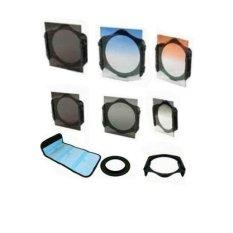 Focus Filter kit 8 in 1 + Adaptor Ring + Holder Hood Case untuk 52mm