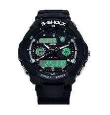 Foorvof SKMEI Multifunction Military LED Analog Digital Watches (Grey)