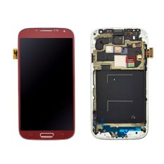 For Samsung Galaxy S4 I337 M919 Lcd Screen Touch Screen Touch Lens Digitizer Replacement Parts Red - Intl