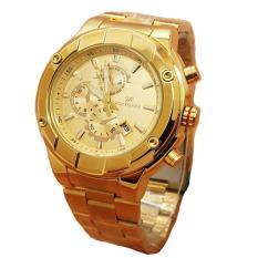 Fortuner Jam Tangan Wanita - Staibless Steel - Gold - Fr K5011 Gold