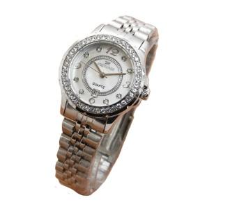 Fortuner - Jam Tangan Wanita - Stainlessteel - Silver - FR3089HD