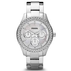 Fossil Cecile Jam Tangan Wanita - Stainless - Silver - Fossil ES2860