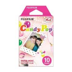 Fujifilm Instax Mini Candy Pop Instant Film - Putih