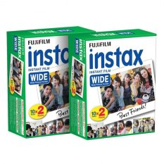 Fujifilm Instax Wide White Edge Instant 40 Film For Fuji Wide 210,300 Instant Camera (Intl)