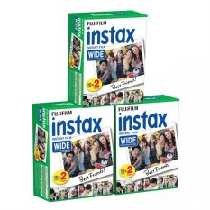Fujifilm Instax Wide White Edge Instant 60 Film For Fuji Wide 210,300 Instant Camera (Intl)