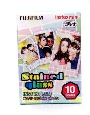 Fujifilm Refill Instax Mini Film Stained Glass - 10 Lembar