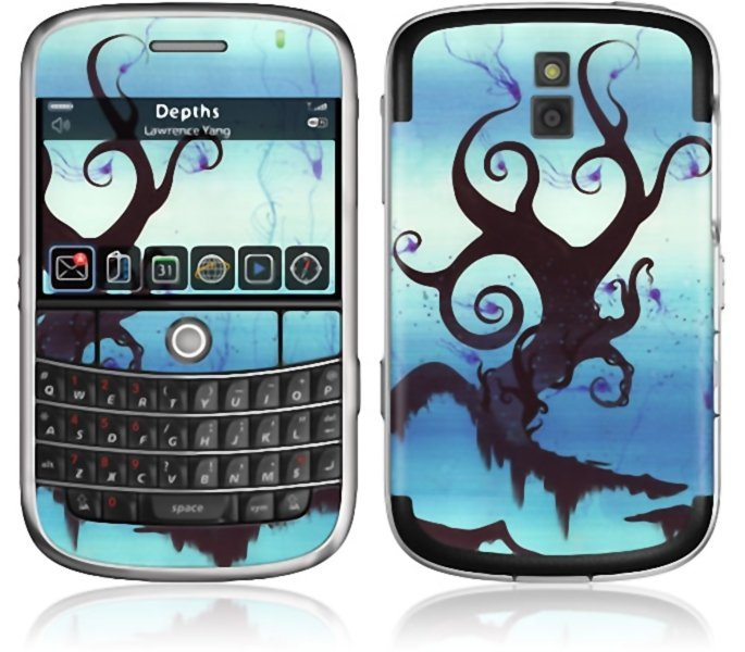 Gelaskins Blackberry Bold 9000 Depths