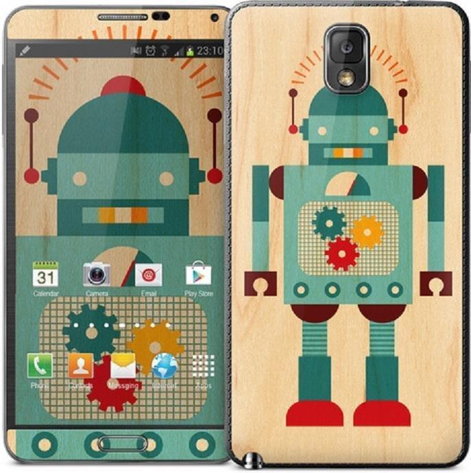 Gelaskins Blue Robot Samsung Galaxy Note 3