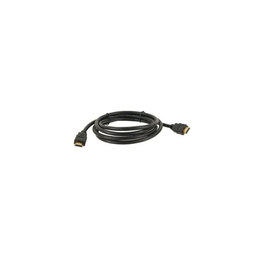 Generic 1.8m High Speed Sleek Design Gold plated HDMI M/M Signal Cable Version 1.3 (Black)