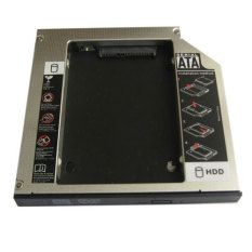 Generic 2nd 12.7mm Pata Ide To Sata Hard Drive Hdd Caddy Bay For Dell Inspiron 700.710m- Intl