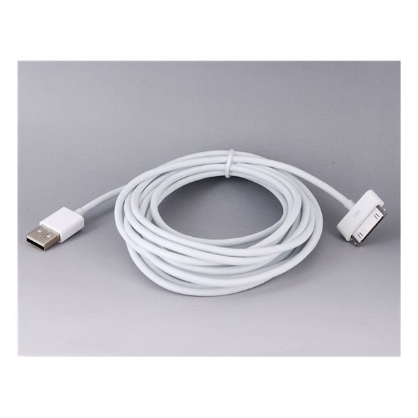 Generic 3m USB Cable for iPhone4 (White)
