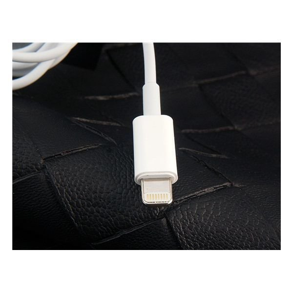 Generic Charging Data Transmission Cable for iPhone 5 iPod Touch 5 iPod Nano 7 iPad 4 1 meters White