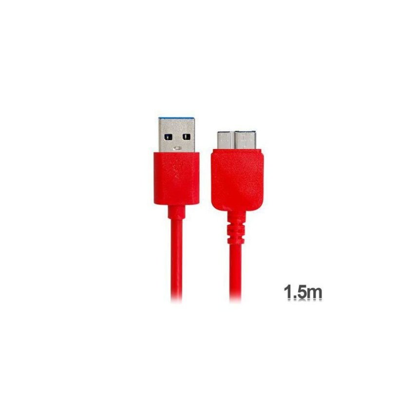 Generic KS U330 1.5 m USB 3.0 Charging Data Cable for Samsung Galaxy Note 3 N9000 (Red)
