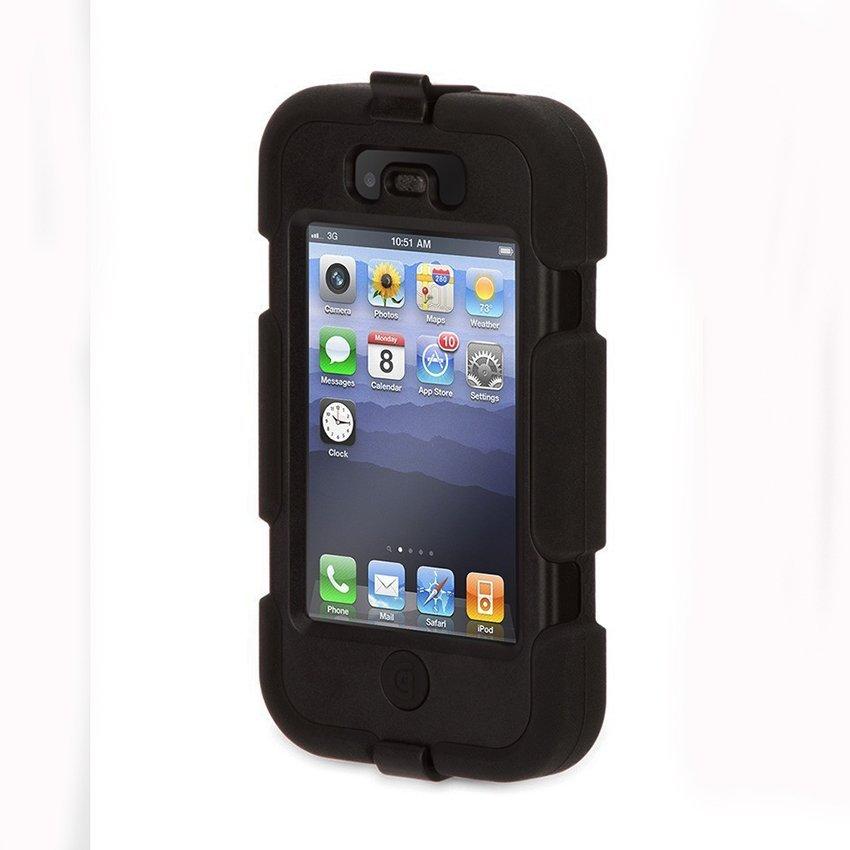 Griffin Survivor Iphone 4 4S - Hitam