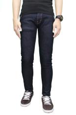 Gudang Fashion - Celana Panjang Pria Jeans - Biru Tua
