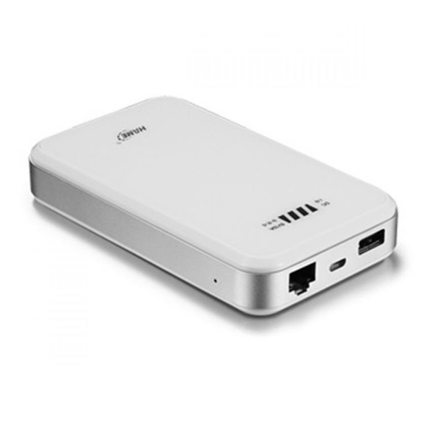 Hame F2 - Router & Powerbank 10000mAh - Putih