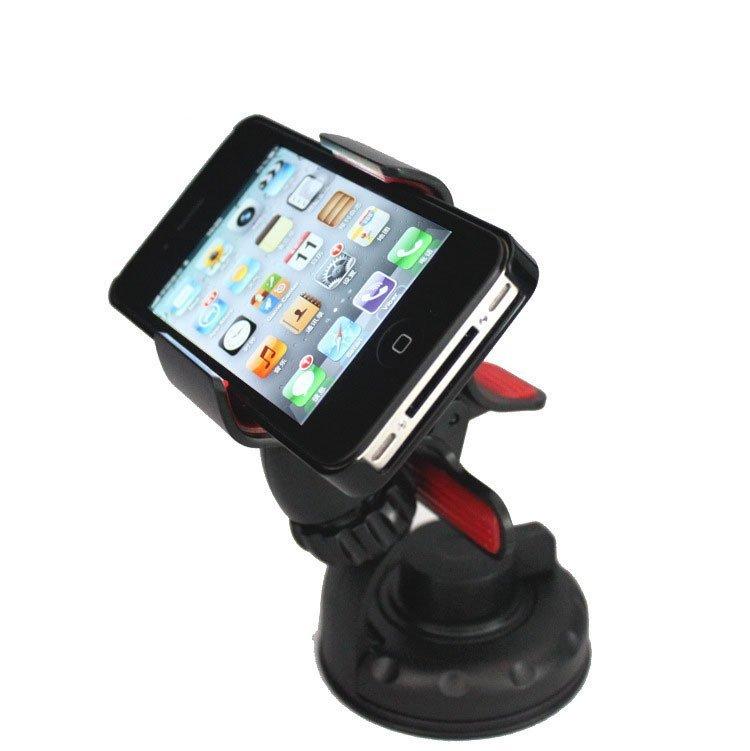 Hasense Windshield 360 Degree Car Phone Holder for Phone GPS (White) (Intl)