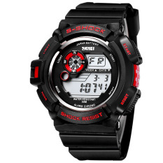 Hazobau In 2016 The New Style Of The Moment The United States And The United States SKMEI Brand Watch Men's Sports Silicon Tape Table Electronics Wholesale