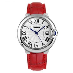 Hazyasm Moment Of Beauty Fashion Ladies Leather Waterproof Pointer Watch Watch Simple Temperament Personality Of Female Students Fashion Table