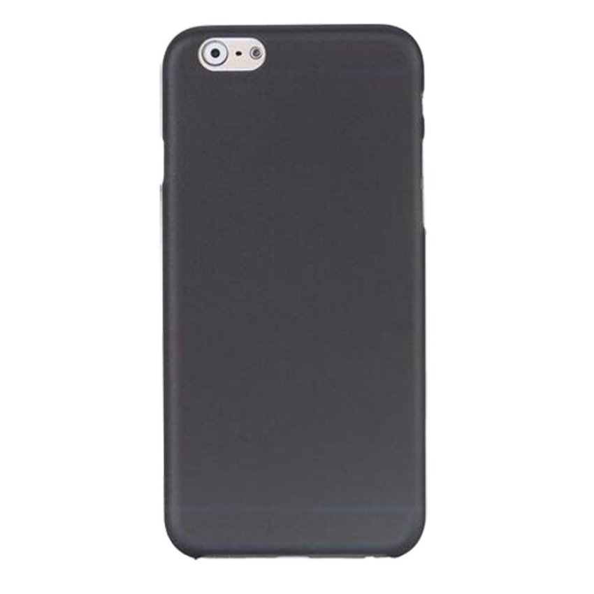 HB08 Cases Scrub Protect Shell 0.03 mm Slim Transparent Phone shell for iPhone 6 Black