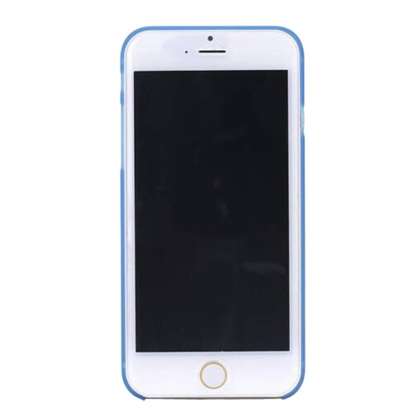 HB08 Cases Scrub Protect Shell 0.03 mm Slim Transparent Phone shell for iPhone 6 Blue
