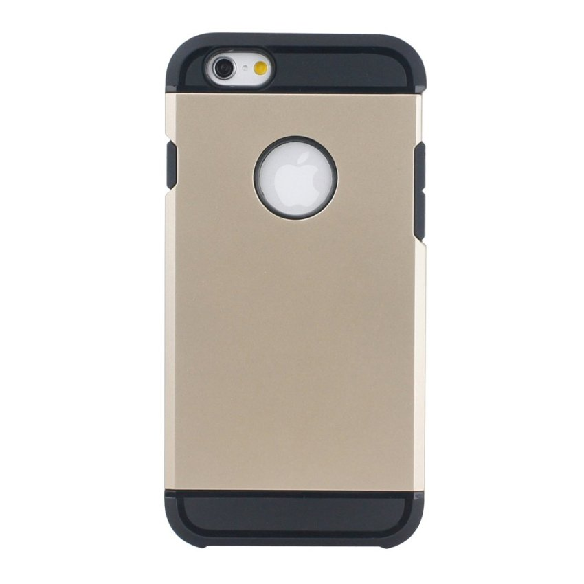 HB17 Cases TPU Cushioning Wear-resisting Phone Case for iPhone 6 Gold