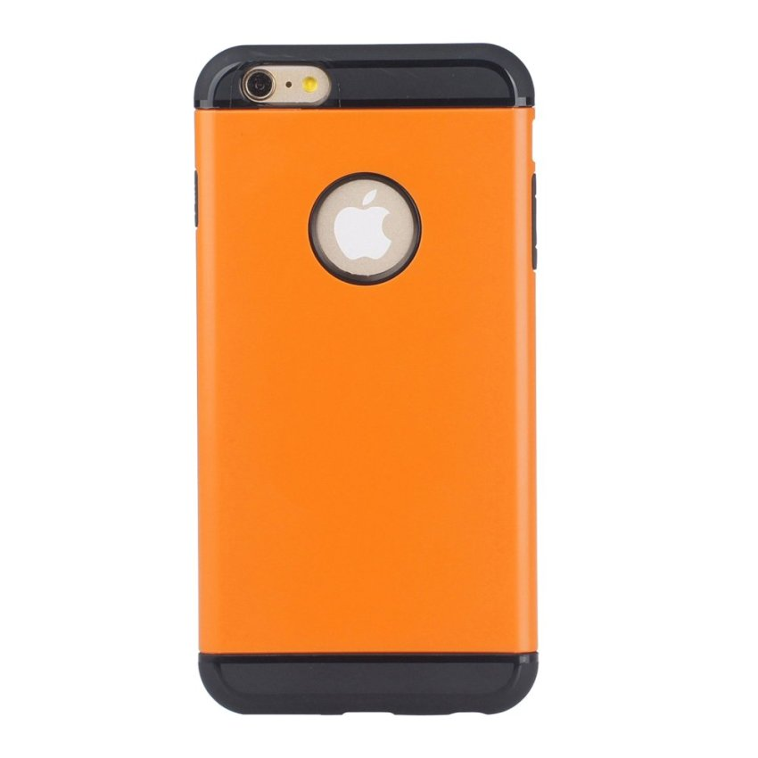 HB17 Cases TPU Cushioning Wear-resisting Phone Case for iPhone 6 Orange