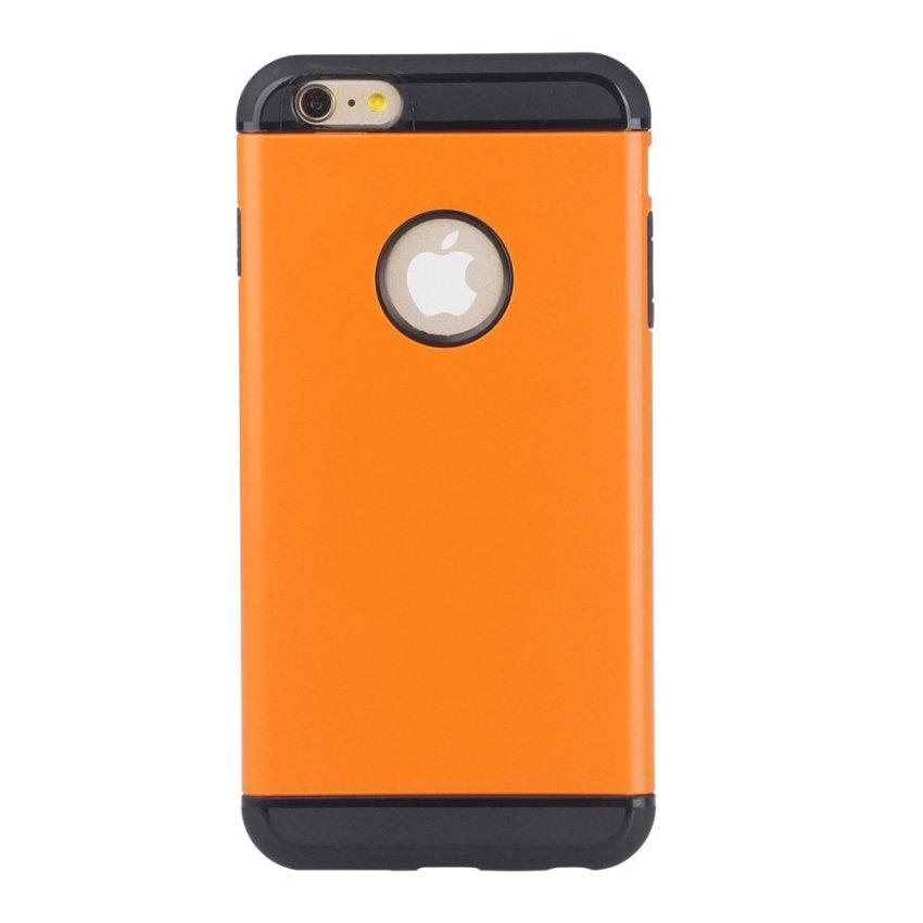 HB17 Cases TPU Cushioning Wear-resisting Phone Case for iPhone 6 Orange