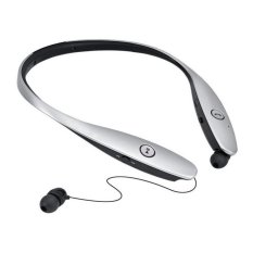 HBS900 Wireless Bluetooth 4.0 Sport Stereo Neckband Style With MIC Bass Headphone For IPhone And Android Silver - Intl