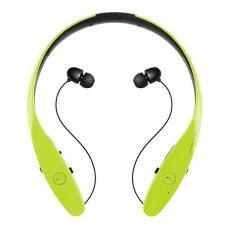 HBS900 Wireless Bluetooth Headset Sport Stereo Handsfree MIC Bass (Green) - Intl