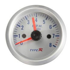 HDL 2.52mm Car Rev Counter Tacho Tachometer Pointer Gauge Meter 0-8000RPM Amber - Intl