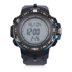 Heart Rate Monitor With Pedometer Calories Counter 3D Fitness Sport Watch