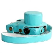 High Quality Micro Single Camera Bag For Samsung NX Mini Lightweight Camera Bag Case Cover For Samsung NX Mini Camera Blue
