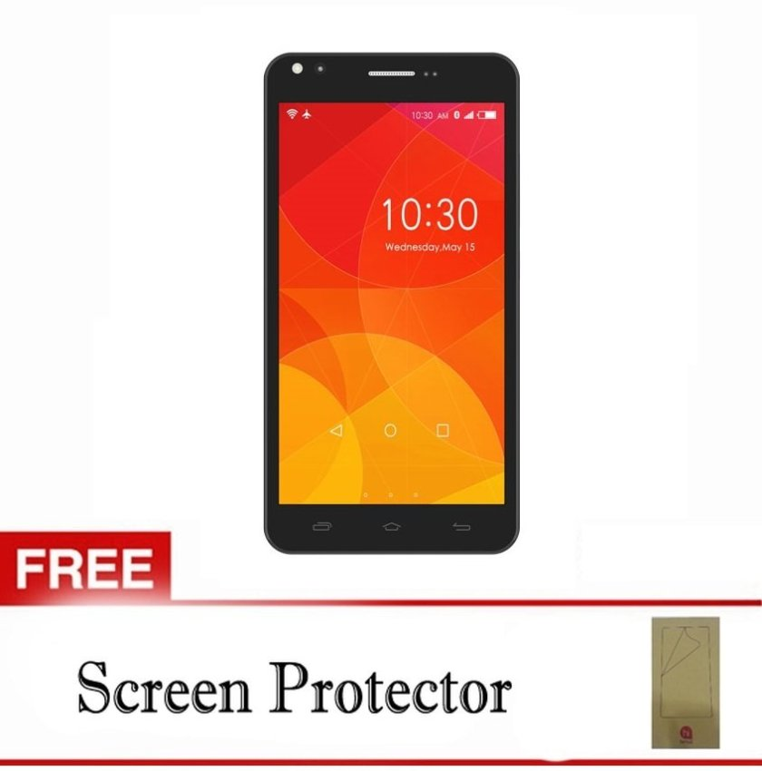 Himax Polymer 2X - 8GB - Hitam + Gratis Screen Guard