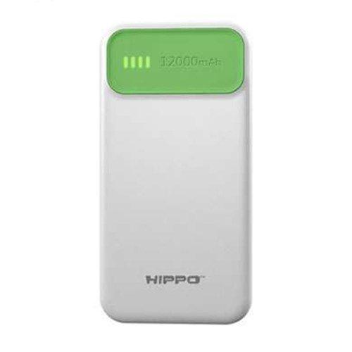 Hippo Atlas Slim Power Bank 2 Usb Output 12.000 mAh - Hijau