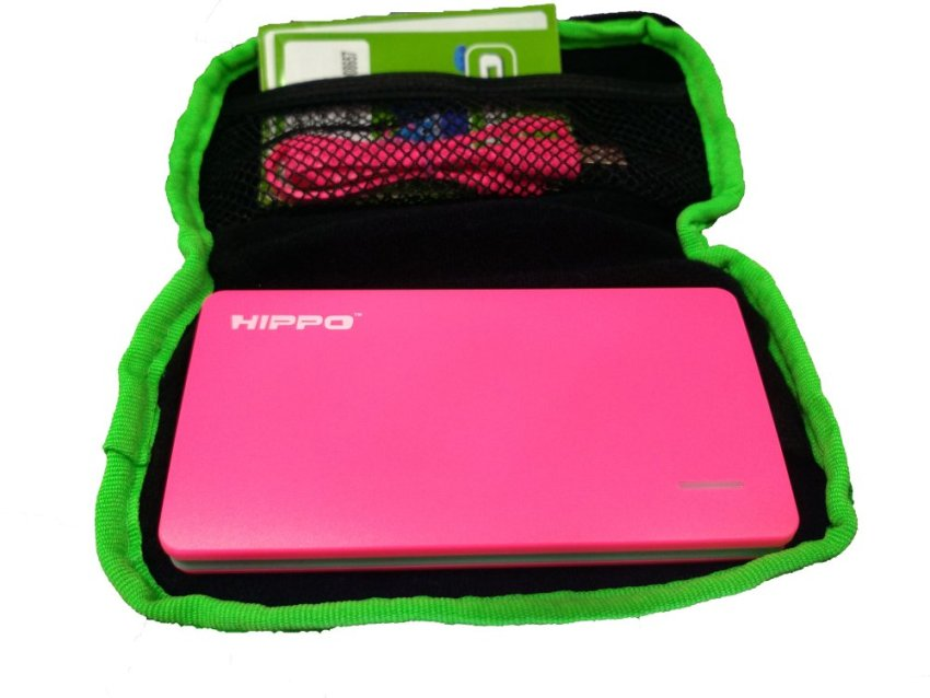 Hippo Powerbank Slick 5000 mAh - Pink