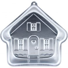 HK ZD-69 Aluminium Cake Pan House Loyang Kue Rumah 23 x 8 x 22 cm - silver
