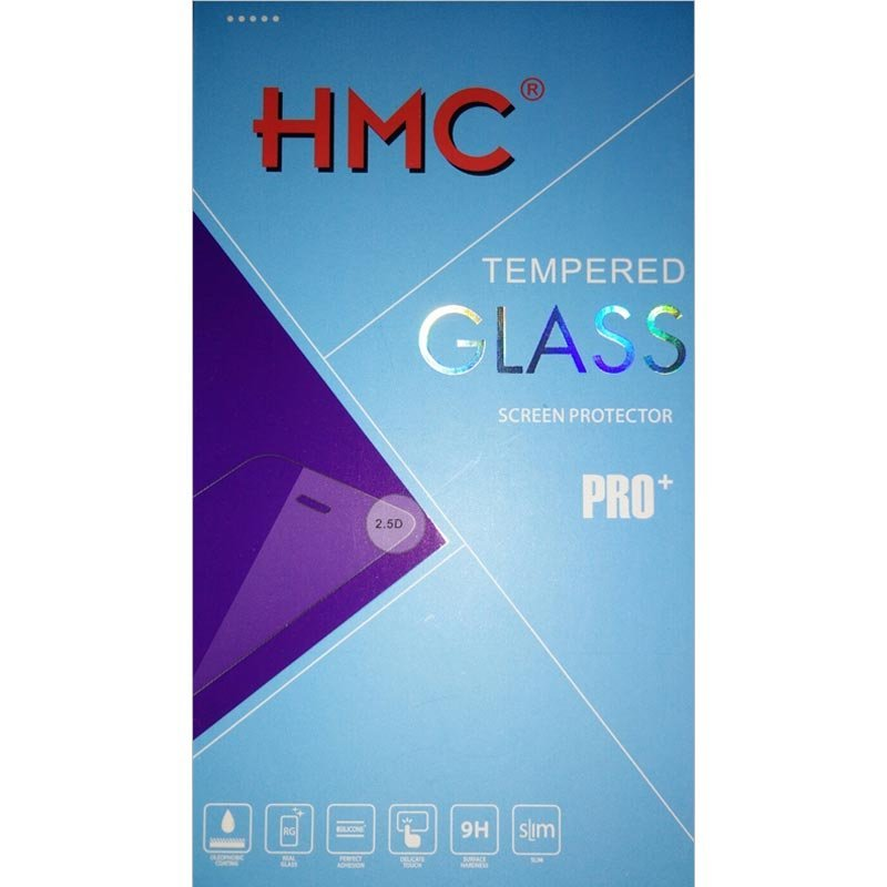"HMC Blackberry Leap - 5.0"" Tempered Glass - 2.5D Real Glass & Real Tempered Screen Protector"