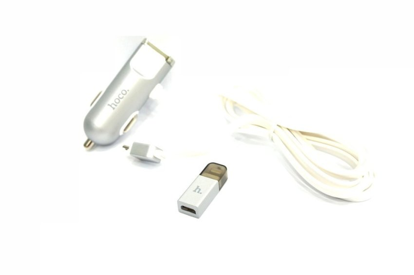 Hoco Car Charger UCL01 - White