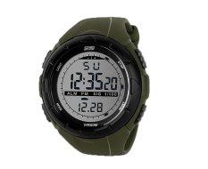 Hogakeji Skmei Mens Fashion Military Sports Wrist Watch (Army Green)