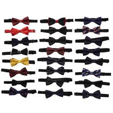 HomeGarden Classic Adjustable Men's Bow Tie Wedding Party Necktie Bowtie For Men L02 - Intl