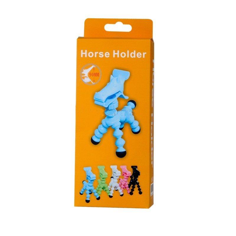 Horse Design Mobile Phone Holder (Green) (Intl)