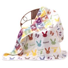 Hot Selling Lovely Cartoon Baby Bath Towel With Cartoon Patterns-rabbit 110*110cm