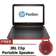 "HP 14 V203TX - 14"" - Intel Core i5-5200U - RAM 4GB - Merah + Gratis JBL Clip Speaker"